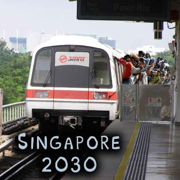 Singapore's population could hit 6.9 million by 2030 Talk Cock Sing Song