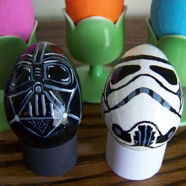 Creative Easter Eggs Designs Talk Cock Sing Song