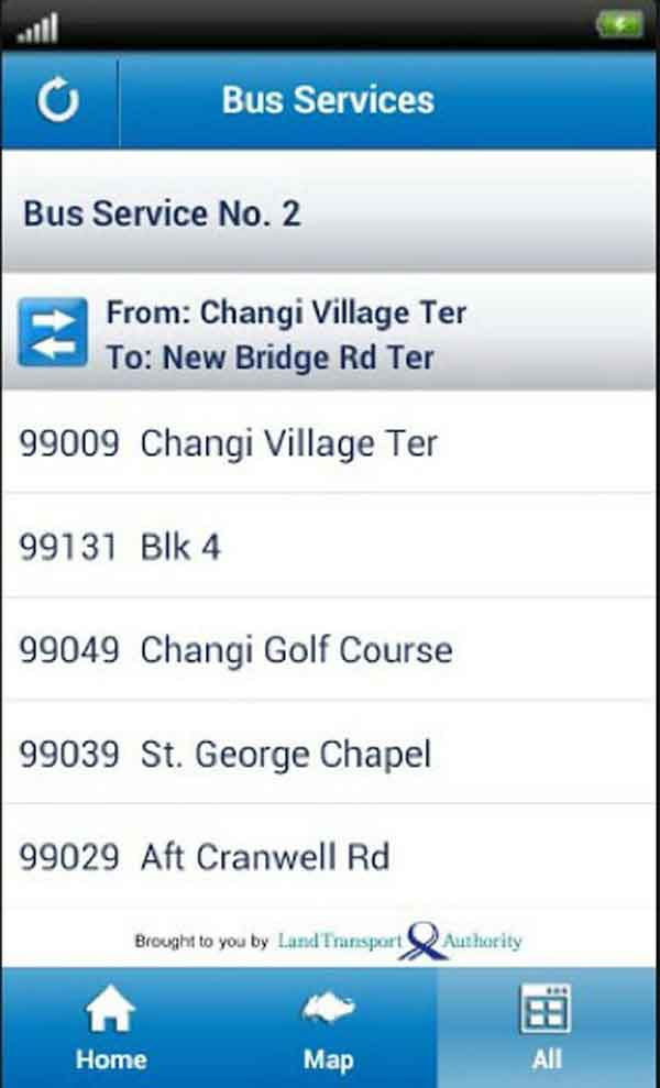 Fare-distances of Bus Services not found on Official Mobile Apps and Bus Stop Information Panels Talk Cock Sing Song