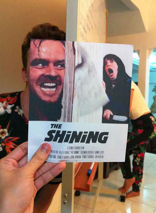 Movies Posters with Real People Part 1 Talk Cock Sing Song